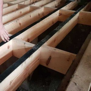 Acoustic joist strip