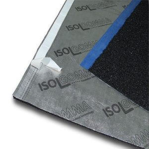 Impact sound insulation for underfloor heating systems