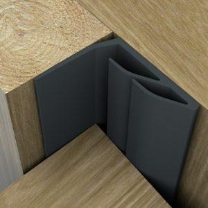 acoustic door seal brown