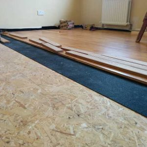 Sylpro 5mm Acoustic Underlay for floor soundproofing
