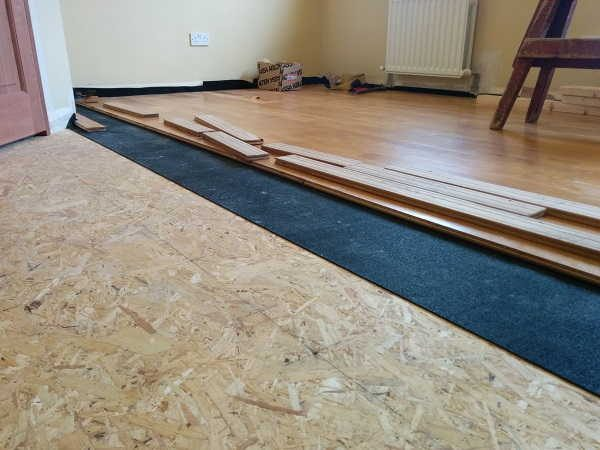 Sylpro 5mm Acoustic Underlay